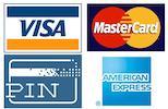 Betalen met pin en Credit Card